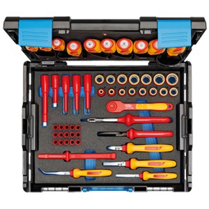 GEDORE VDE Tool assortment 100-1094  53 pcs in S. L-BOXX 136