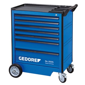 GEDORE 2005 Tool trolley with 9 drawers