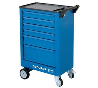 GEDORE 1578 Tool trolley with 6 drawers
