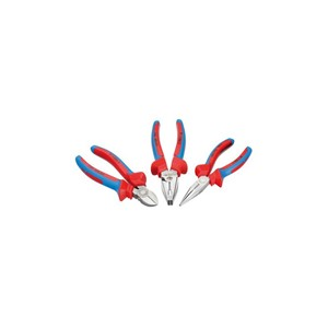 Gedore VDE S 8003 Pliers set with VDE dipped insulation